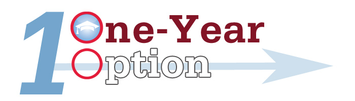 Image result for one year option logo