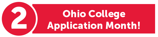 2. Ohio College Application Month