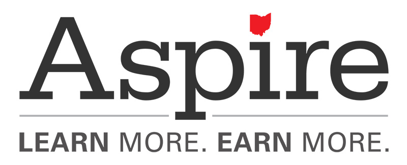 Aspire logo (big tagline)